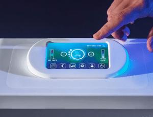 Ecran tactile purificateur air